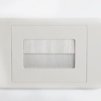 BULLNOSE WALL PLATE